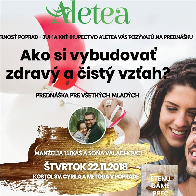 Lukáš a Soňa Valachovci -  Ako si vybudovať zdravý a čistý vzťah?